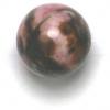 Semi-Precious 10mm Round Rhodonite